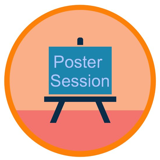 Poster session icon
