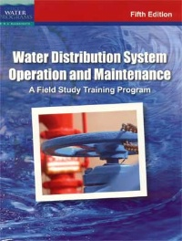 08/30/12 Water Distribution System Operation & Maintenance NIGHT CLASS IEPA#4642