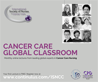 ISNCC Global Classroom: Nursing Leadership in Cancer Care