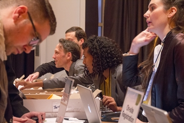 Registration and Information Desk, New York 2014 ISPA Congress