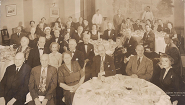 Delegates at New York 1950 Congress