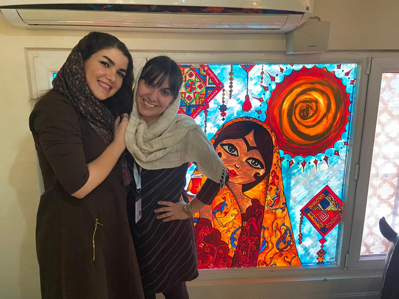 Fellows Maryam Malmir and Pamela Lopez
