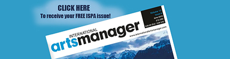 Ad Banner - International Arts Manager Magazine
