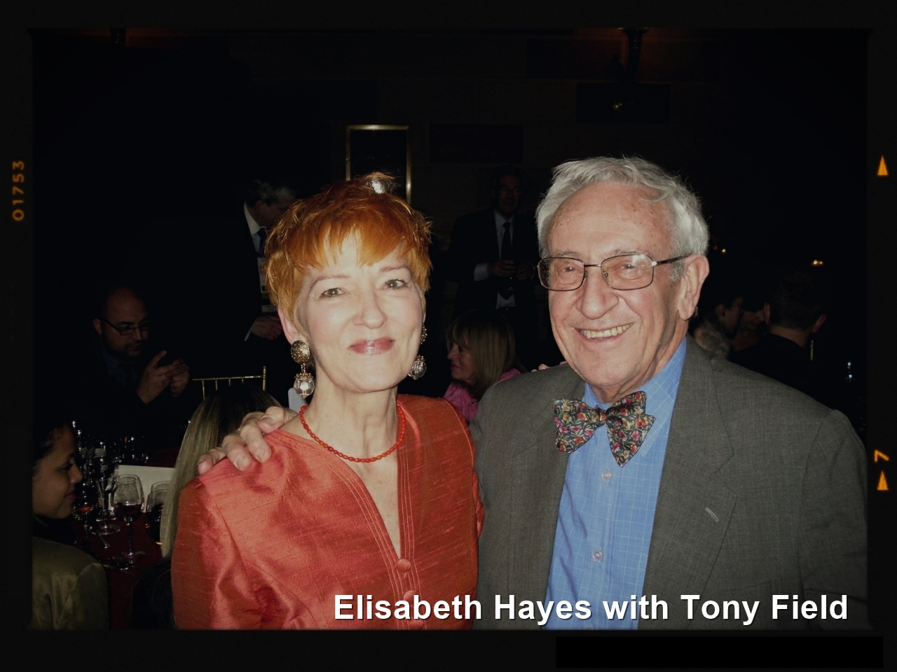 Tony Field and Elizabeth Hayes