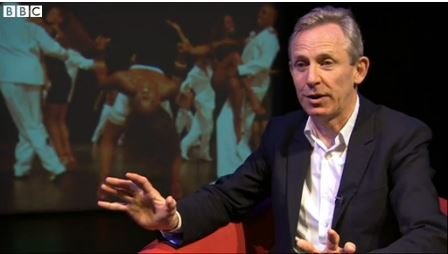 Sadler's Wells' artistic director Alistair Spalding on BBC News