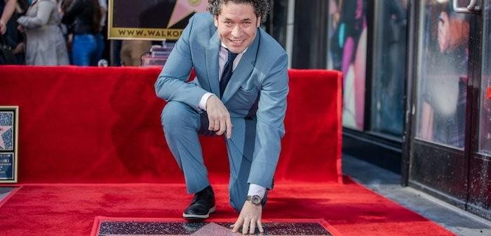Gustavo Dudamel on Hollywood Walk of Fame