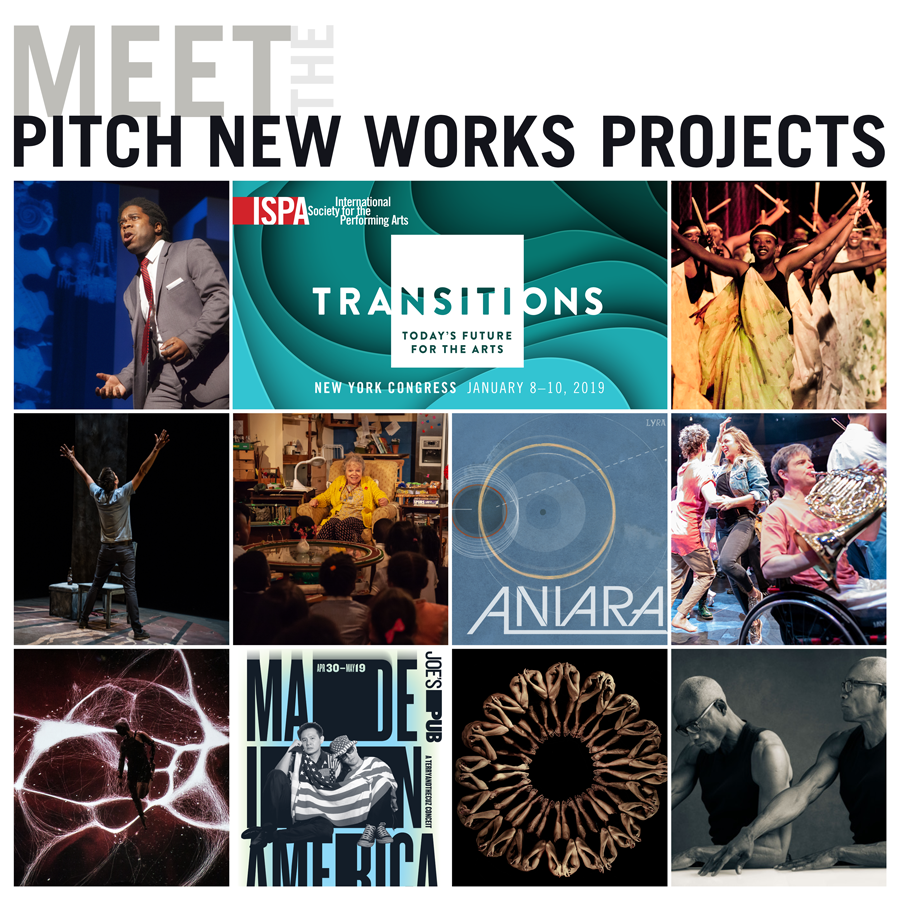 Pitch New Works Projects for the New York 2019 ISPA Congress