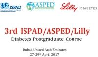 3rd ISPAD/ASPED/Lilly Diabetes Postgraduate Course