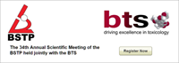 34th Annual Scientific Meeting of the British Society of Toxicological Pathology (BSTP)