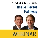 ISTH Academy Webinar: Tissue Factor Pathway