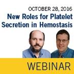 ISTH Academy Webinar: New Roles for Platelet Secretion in Hemostasis