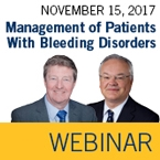 ISTH Academy Webinar: Management of Patients With Bleeding Disorders