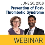 ISTH Webinar: Preventing Post-Thrombotic Syndrome