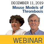 ISTH Webinar: Mouse Models of Thrombosis