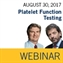 ISTH Academy Webinar: Platelet Function Testing