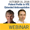 ISTH Webinar: Considering Patient Profile in VTE Extended Anticoagulation