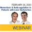 ISTH Webinar: Hemostasis and Anticoagulation in Patients With Liver Dysfunction