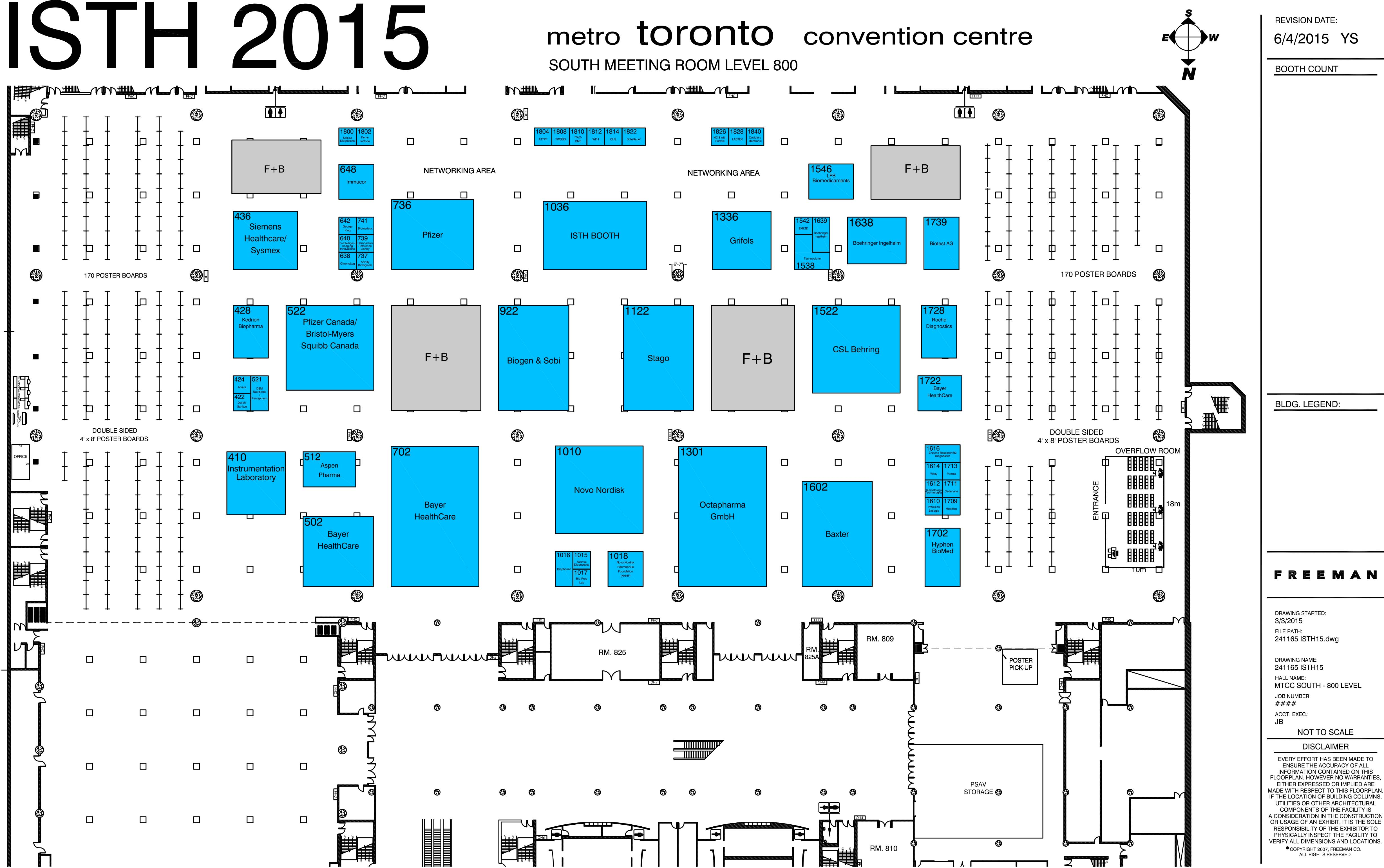 2015 floor plan international society on thrombosis and access the isth 2015 exhibition floor plan online here