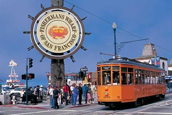 San Francisco Wharf