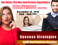 San Francisco Bay Area LIG | Webinar:  Service Mgt Leadership: Get Outta the Box...