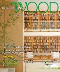 International Wood 2012 Cover: Baltic birch was the sole wood used for shelving and paneling throughout Chicago's new Poetry Building.