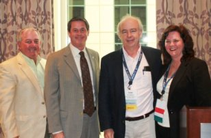 (l-r) Don MacMaster, Argo Fine Imports, Sen. Vitter (R-LA); Ivens Robinson, Robinson Lumber Company; Cindy Bergin, Newman Lumber Company