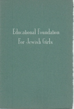 Educational Foundation for Jewish Girls