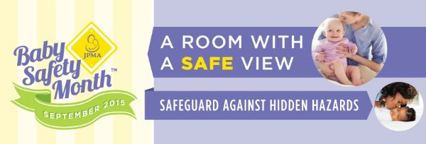Baby Safety Month 2015 - A Room with a Safe View