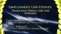 On Demand - Employment Law Update: Traps and Perils for the Unwary