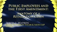 On Demand - Public Employees and First Amendment