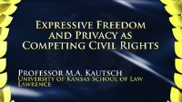 On Demand CLE - Expressive Freedom and Privacy as Competing Civil Rights
