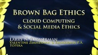 On Demand - Cloud Computing & Social Media Ethics