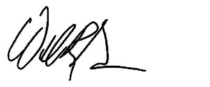 William R. Garmer's Signature