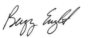 Buzz English's Signature