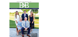 July/August Bench & Bar Cover features KBA President Tom Kerrick and his family.