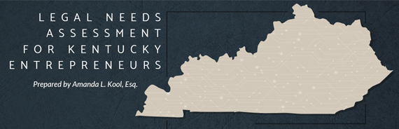 Legal Needs Assessment For Kentucky Entrepreneurs