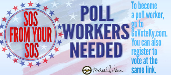 SOS: Poll Workers Needed Image