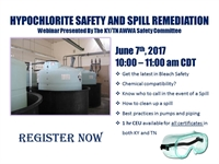 Hypochlorite Safety and Spill Remediation