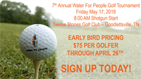 7th Annual Water For People Golf Tournament