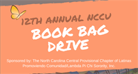 12th Annual NCCU Book Bag Drive