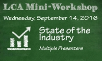 September Mini Workshop: State of the Industry