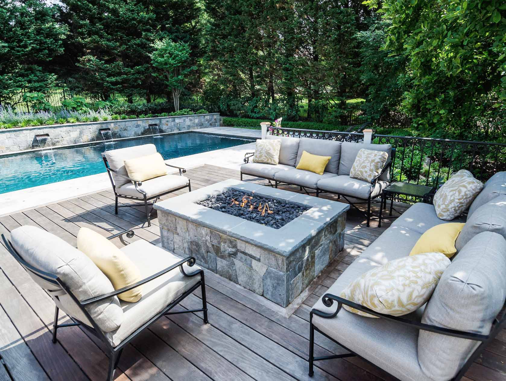 Outdoor Living Area - Landscape Contractors Association MD, DC, VA
