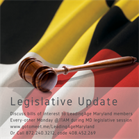 Maryland Legislative Update Call