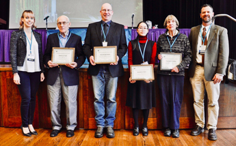 2018 Environmental Service Awardees