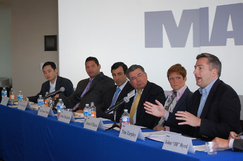 A Congressional staff panel discussed UAV issues with MAPPS members on Aug. 14