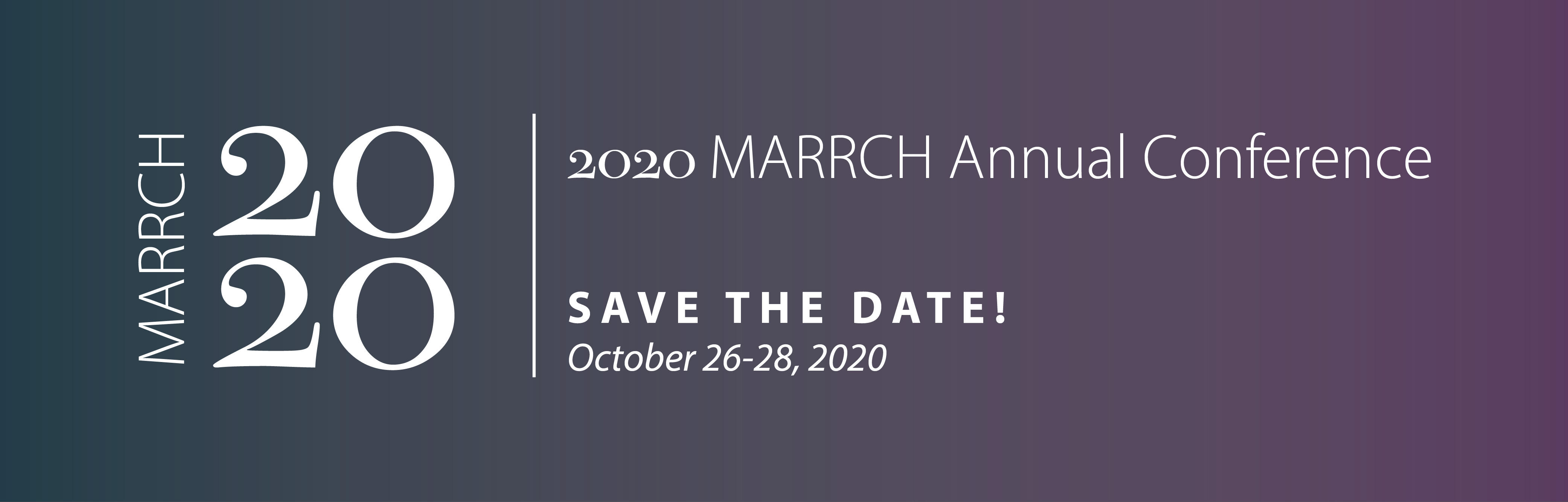 MARRCH Annual Conference
