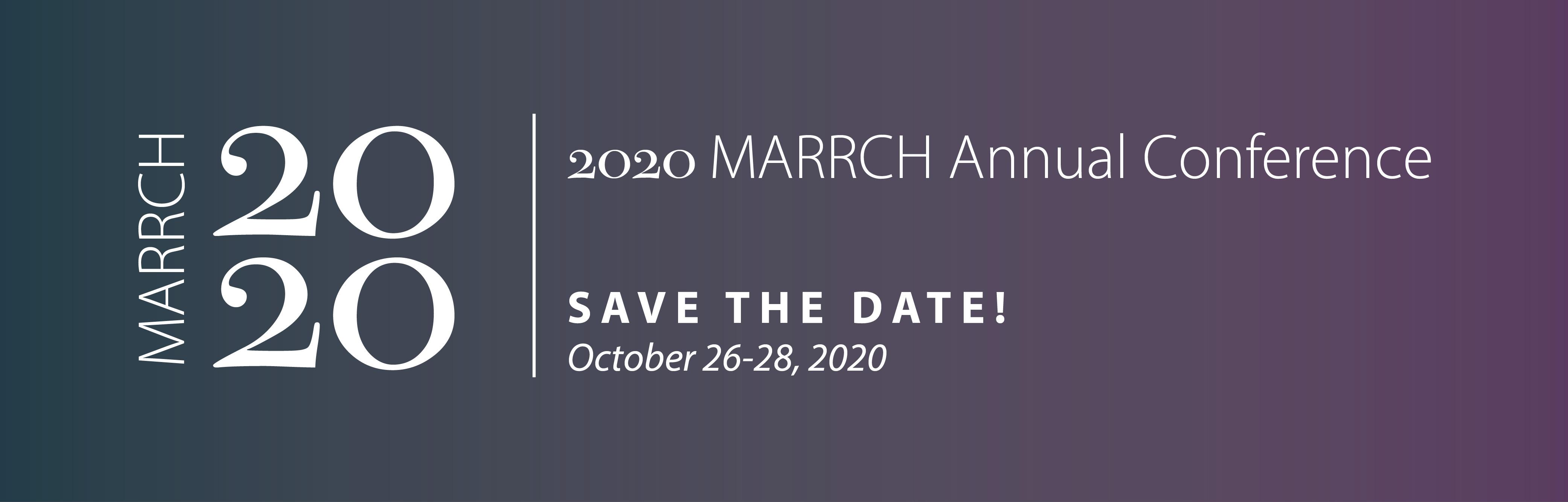 MARRCH Annual Conference