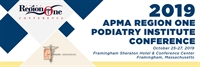 2019 APMA Region One/Podiatry Institute Conference Exhibitor/Sponsor
