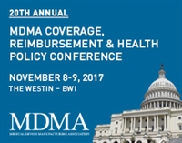 MDMA's 20th Annual Coverage, Reimbursement & Health Policy Conference