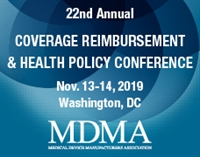 MDMA's 22nd Annual Coverage, Reimbursement & Health Policy Conference